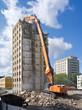 Altes Hochhaus wird abgerissen