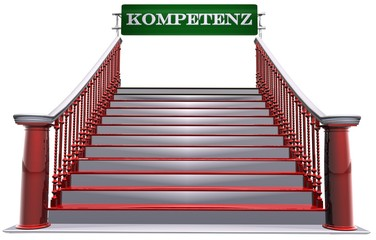 3D Treppe - KOMPETENZ