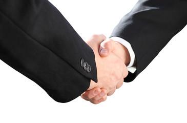 Handshake freigestellt | Handschlag | Menschen