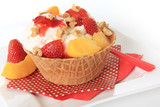 Icecream sundae