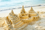 Fototapety Sand Castle on the Beach