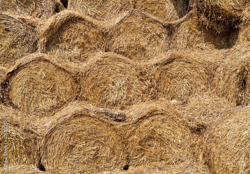 close- up of straw as background or texture