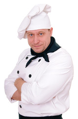 chef in the uniform