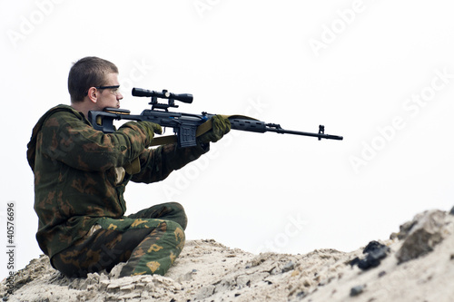 Afghanistan  soldier war