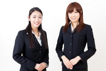 a team of asian businesswomen