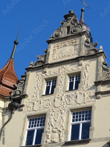 Details am Rathaus Dresden-Leuben
