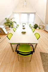 Business Room Green