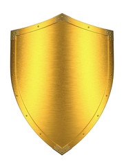 Brushed Gold shield