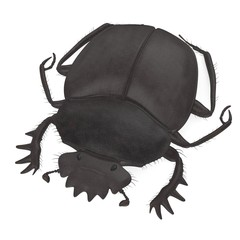 3d render of scarabeus typhon