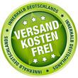 """Button """"Versandkostenfrei innerhalb Deutschlands"""" grün"""
