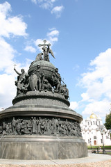 Monument of Millennium of Russia in Great Novgorod