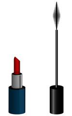 Rouge à lèvres mascara