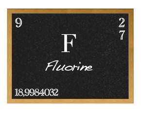 Fluorine.