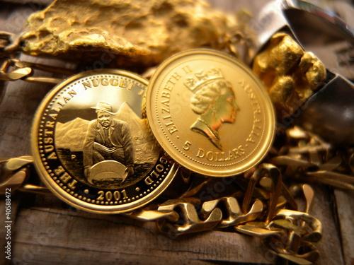 monnaies en or