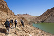Désert de pierres et Lac : Randonneurs #1