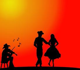 Bailando country