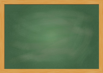 Blank chalk board illustration