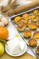 pardulas di ricotta - dolce tipico dalla Sardegna