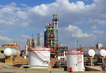Refinería de petróleos
