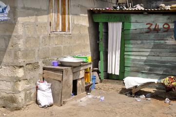 Haus Nr. 349 in Afrika