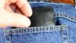 Diebstahl von einer Brieftasche