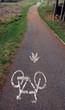 strada ciclabile e pedonale