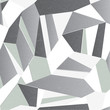 Seamless gray abstract retro crystal background