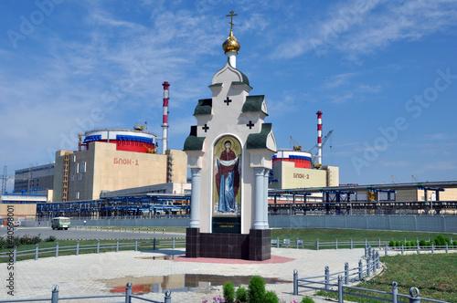 Православная часовня на территории атомной станции
