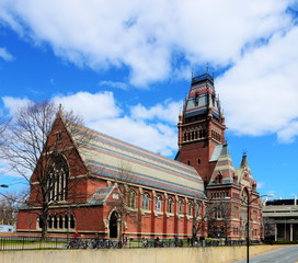 Memorial Hall at Harvard University in Cambridge, Massachusetts