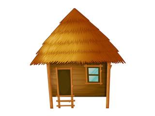 Cartoon hut