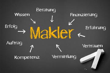 Makler Konzept