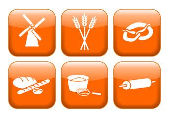 Back-Icons, Apps, Symbole