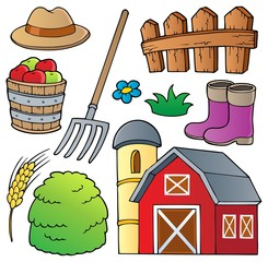 Farm theme collection 1