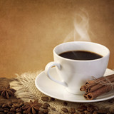Fototapety Hot coffee