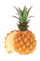 fruit - fresh raw pineapple