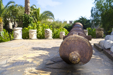 The Cannon castle of Marmaris