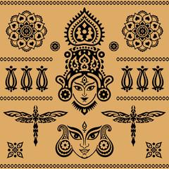 Indian ethnic elements