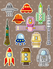 rocket stickers