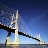 Fototapety part of Vasco da Gama bridge