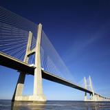 Fototapety part of Vasco da Gama bridge