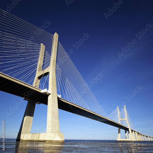 part of Vasco da Gama bridge