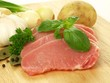 Raw pork with vegatables