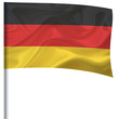 Waving flag small - Germany