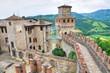 Castle of Vigoleno. Emilia-Romagna. Italy.