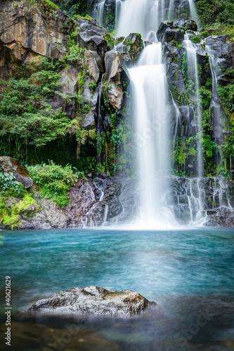 Leinwanddruck Bild Cascades du bassin des Aigrettes - La Réunion