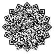 QR code abstract pattern