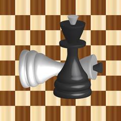 black and white chess