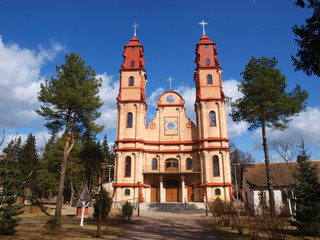 Church in Hajnowka