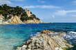 mediterranean sea at the Costa Brava - Lloret de Mar, Spain