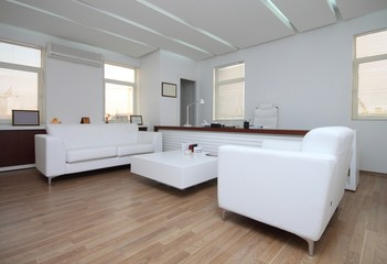 Modern white office